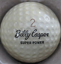 (1) BILLY CASPER SUPER POWER SOLID STATE SIGNATURE LOGO GOLF BALL (CIR 1966) #2