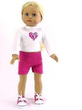 "Cheerleading Practice Outfit Fits 18"" American Girl Doll Clothes"