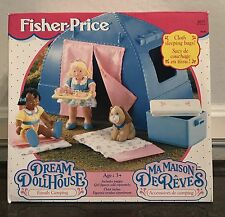 FAMILY CAMPING for Fisher Price Dream Dollhouse or Loving Family NIB #4672
