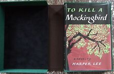 To Kill a Mockingbird,Harper Lee,1960 TRUE STATED First Edition, 1st-1st w/ Case