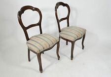 Sedie in stile Luigi Filippo coppia