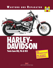 HARLEY DAVIDSON TWIN CAM 88 96 103 SOFTAIL DYNA GLIDE TOURING REPARATURANLEITUNG