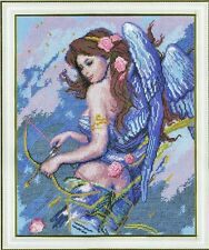 Cross Stitch Kit Angel with bow