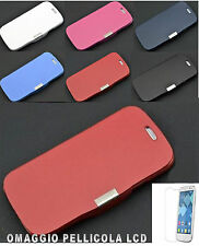 FLIP COVER CUSTODIA CASE PER ALCATEL ONE TOUCH POP C3 OT 4033 E PIU PELLICOLA