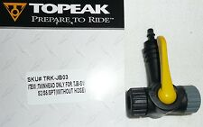 TOPEAK JOE BLOW FLOOR PUMP TWIN HEAD only head schrader & presta JB03