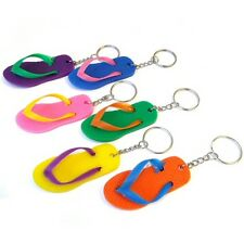Pack of 24 Flip Flop Keychains - Party Bag and Pinata Fillers / Toys / Favours