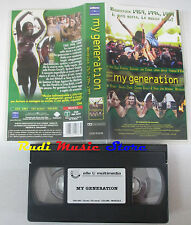 VHS WOODSTOCK 1969 1994 1999 USA My generation JANIS JOPLIN METALLICA mc (VM9)