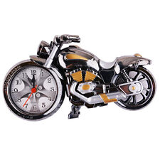 Artistic Motorbike Motorcycle Desk Alarm Clock Model for Household Shelf Decor