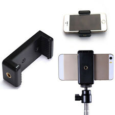 Stand Clip Bracket Holder Monopod Tripod Mount Adapter for Mobile phone Camera s