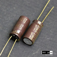 2PCS 2.2uF 50V ELNA SILMIC a Super Gold ARSA for HiEnd audio capacitors Japan