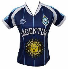 Argentina Slim Women Soccer Jersey New With out Tags Made by Arza Sports