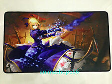Fate stay night Saber YGO VG Mat Game Mouse Pad Custom Playmat Free Shipping #78