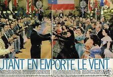 Coupure de Presse Clipping 1986 (13 pages) Vivien Leigh Autant emporte le vent
