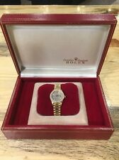 Ladies Rolex President 69178 18K Gold Diamond Bezel and Dial Tight Bracelet!