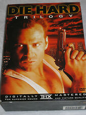 Die Hard Collection (DVD, 1999, 3-Disc Set) Bruce Willis   LN