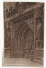 Bath Abbey, West Entrance, Judges Postcard, A865