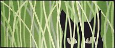 "Black Cat Quilt Kit Quilting Cat Kitties Exclusive by Mary Downes 40"" X 18"". DIY"