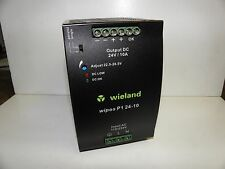 Wieland Power Supply 24Volt 10Amp Wipos P1 24-10