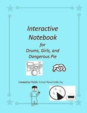 Interactive Notebook for Drums, Girls, and Dangerous Pie, Inc., Middle School No