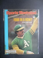 Sports Illustrated October 6, 1975 Reggie Jackson Oakland A's Giants Oct '75 C