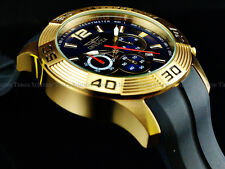 Invicta Men 48mm Stingray Wing Pro Diver VD54 Chronograph 18K Gold IP SS Watch
