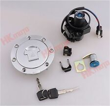 Ignition Switch Fuel Gas Cap Cover Lock For Honda VTR1000F 97-98 VFR800 98-99