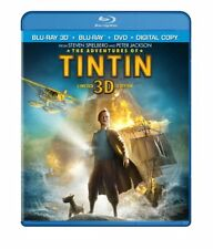 The Adventures of Tintin (Three-Disc Combo: Blu-ray 3D / Blu-ray / DVD / Digital