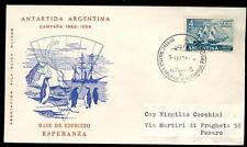 ARGENTINA - ARGENTINA - 1964 - BUSTA - Da Base ESPERANZA a Pesaro/Italia