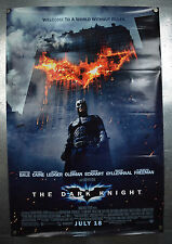 Batman The Dark Knight Original One Sheet Movie Poster SS 27 x 40 Christian Bale