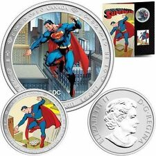 2013 Canada 50-cent Superman 75th Anniversary Coin and Stamp Set