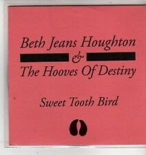 (CX163) Beth Jeans Houghton & The Hooves Of Destiny, Sweet Tooth Bird 2012 DJ CD