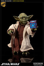 "Sideshow Collectibles YODA JEDI MASTER EXCLUSIVE Star Wars 5.5"" Action Figure"
