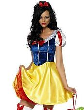 Halloween Disney Snow White Costume Cutest Princess Fancy Dress Adult Hot