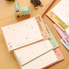 Lindo Notas Adhesivas Etiqueta Papel Marcapáginas Marcador Papelería Oficina
