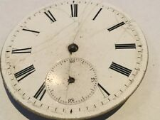 ANTIQUE  POCKET WATCH MOVEMENT ONLY  FOR PARTS SOLD AS IS #39