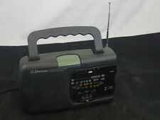 Emerson Instant Weather TV Sound AM/FM Portable Radio RP6246 Battery or AC Power