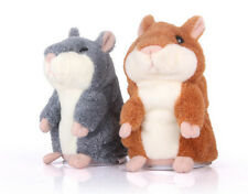 Adorable Toy Mimicry Pet Speak Talking Record Hamster Mouse Plush Kids Toy HU