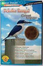 Endangered Bird Coin Card - No. 4 Pekaka Sungai