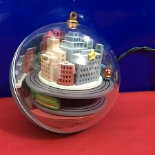 Hallmark Light and Motion Ornament Metro Express 1989