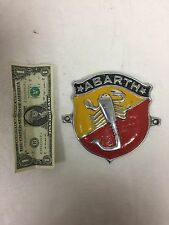 Grill Badge for Vintage FIAT ABARTH 500 600 TC 1000 -NEW- #590C