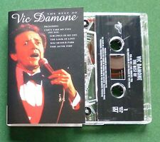 The Best of Vic Damone inc The Look of Love & Didn't We + Cassette Tape - TESTED