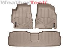 WeatherTech® Floor Mats FloorLiner - Toyota Highlander - 2001-2005 - Tan