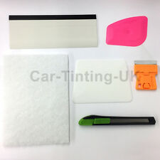 COMPLETE CAR WINDOW TINT FITTING KIT - TINTING KIT