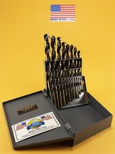 Drill Hog USA 21 Pc Drill Bit Set Index Hi-Molybdenum M7 MOLY Lifetime Warranty