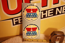 Vintage Motocross Honda World Champ decal stickers CR RC 125 250 500 Works bike