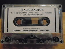 VERY RARE Crack'd Actor DEMO CASSETTE TAPE In the Flesh UNRELEASED Pink Floyd tr