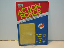 1983 GI JOE / ACTION FORCE SPACE FORCE BATTLE GEAR 'BLISTER CARD ONLY' PALITOY