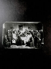 tintype of Abraham Lincoln death bed scene 1865 Civil War  C587SP
