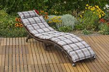 MX Gartenliege Capri PolyRattan Sonnenliege Relaxliege Poolliege Wellnesliege