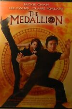 Gordon Chan's The MEDALLION(2003) Jackie Chan Claire Forlani Julian Sands SEALED